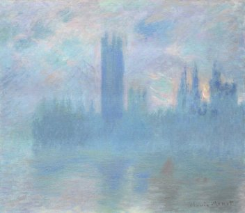 Claude Monet, Le Parlement de Londres, vers 1900-1901