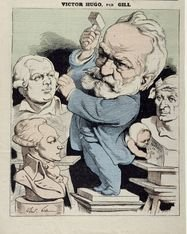Victor Hugo caricatures