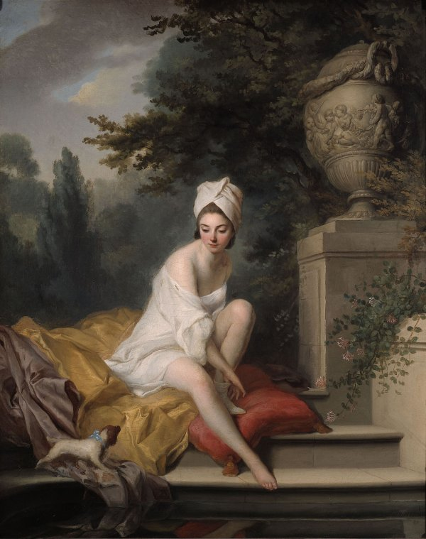 La Baigneuse Johann Anton de Peters