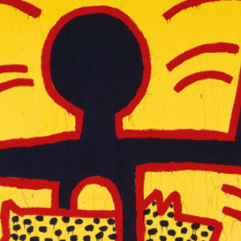 Oeuvre de Keith Haring: Untitled, 1982